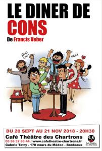 Le dîner de cons @ Café Théâtre des Chartrons | Bordeaux | Nouvelle-Aquitaine | France