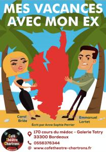 Mes vacances avec mon ex - spectacle ÉTÉ @ Café-théâtre des Chartrons | Bordeaux | Nouvelle-Aquitaine | France