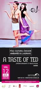 A Taste of Ted @ Pôle Culturel Evasion | Ambarès-et-Lagrave | Nouvelle-Aquitaine | France