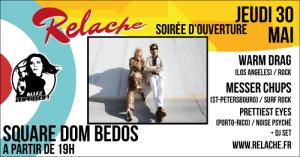 Relache n°10 : Soirée d'ouverture @ Square Dom Bedos | Bordeaux | Nouvelle-Aquitaine | France