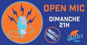 OPEN MIC // THE GRIZZLY PUB @ The Grizzly Pub | Bordeaux | Nouvelle-Aquitaine | France