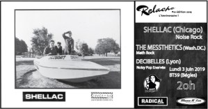 Relache #10 : Shellac // The Messthetics // Decibelles // BT59 @ BT59 | Bègles | Nouvelle-Aquitaine | France
