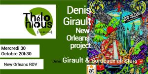 Denis Girault & The New-Orleans Project @ THELONIOUS | Bordeaux | Nouvelle-Aquitaine | France