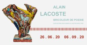 Alain Lacoste : bricoleur de poésie @ Musée de la Création Franche | Bègles | Nouvelle-Aquitaine | France