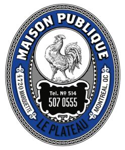 Maison Publique, Bar, Montréal, SORTiR MTL