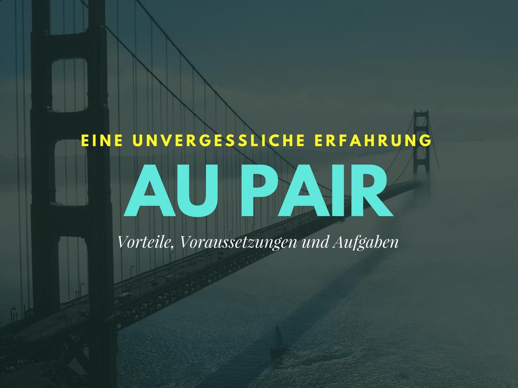 Als Au pair ins Ausland