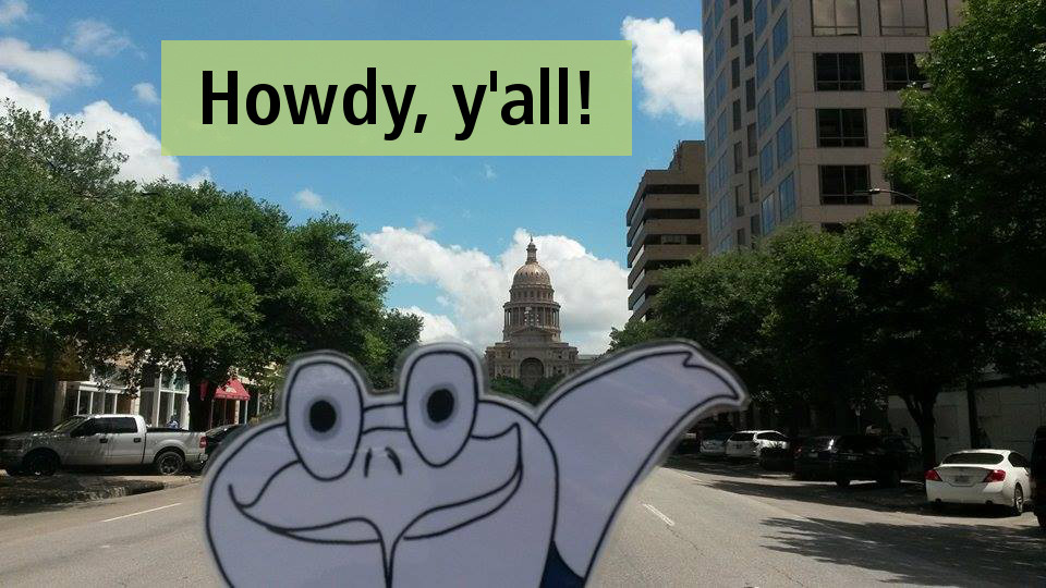 Austin, die Hauptstadt von Texas