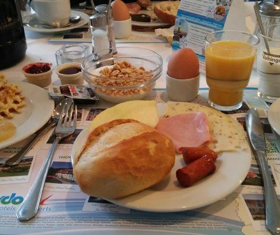 Frühstück in Meißen