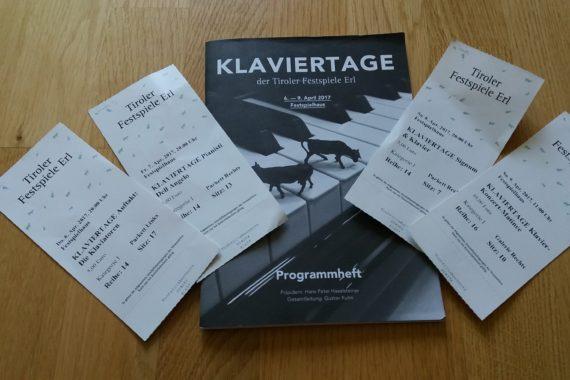 Die Klaviertage der Tiroler Festspiele Erl 2017