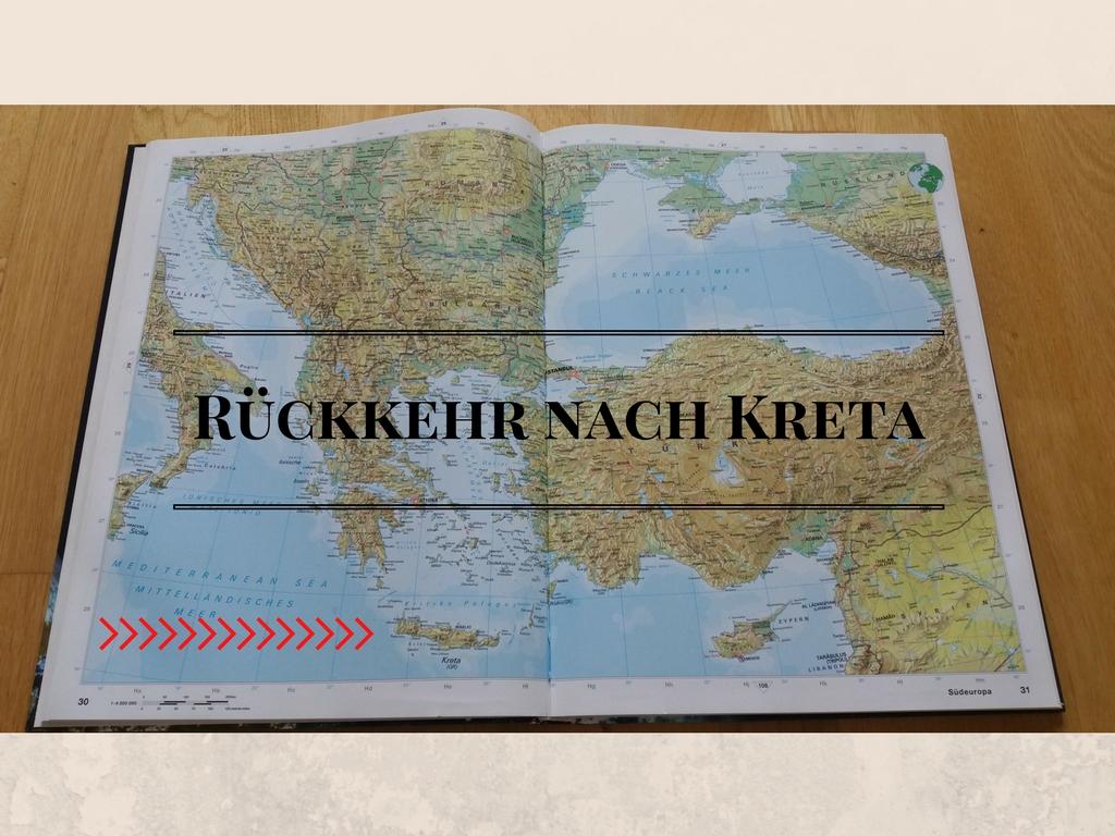Kreta Urlaub - Karte