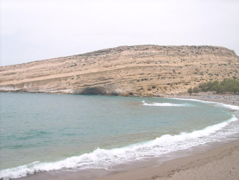 Kreta Urlaub - Matala Höhlen
