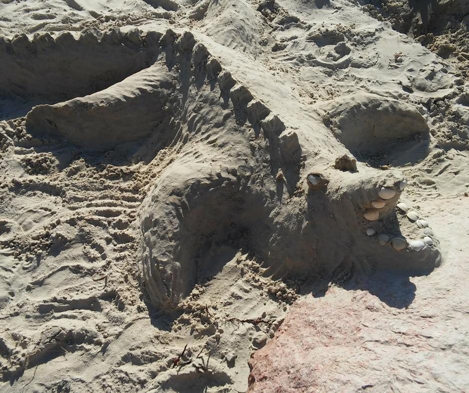 Sandskulpturen bauen