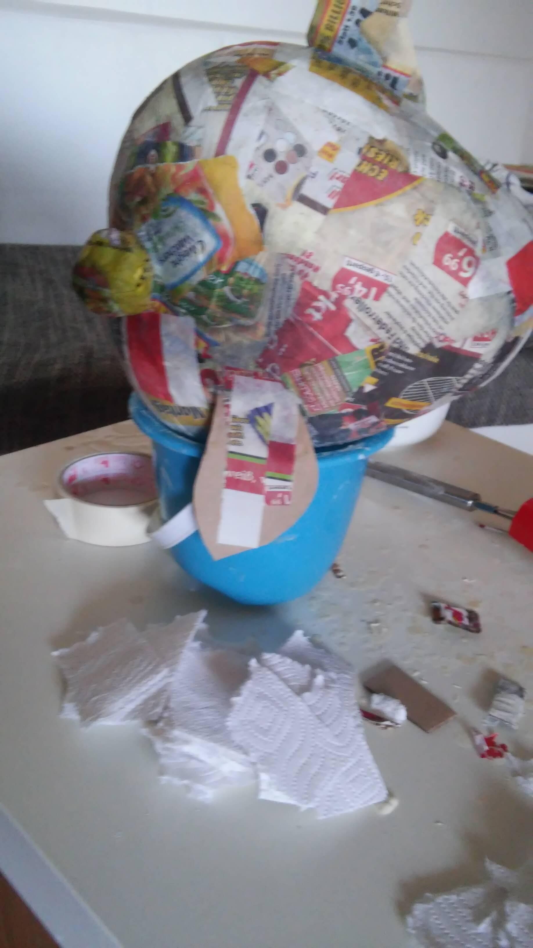 Gut bekannt DIY Fernweh Spardose basteln und endlich lossparen FL61