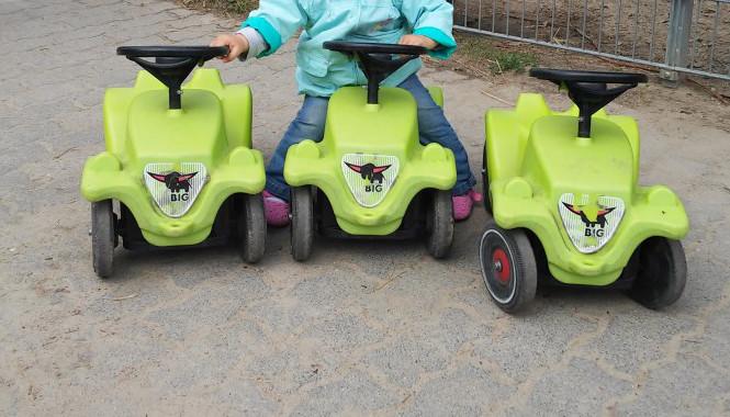 Spielen im Vogelpark Teltow