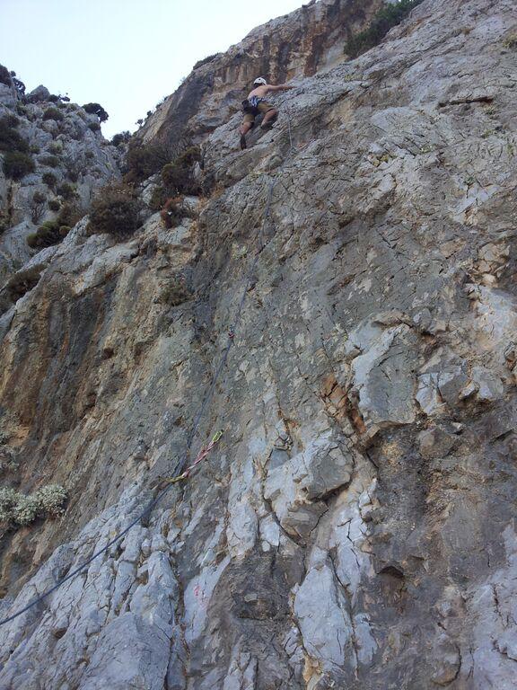 Klettern im Irox Sektor