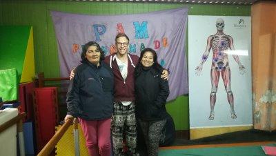 PAM TABLADA volontaria internationnal médical