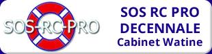 SOS RC PRO Décennale Logo