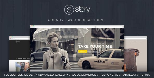 Story - tema per WordPress