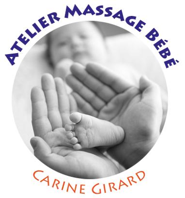 logo carine massage bébé