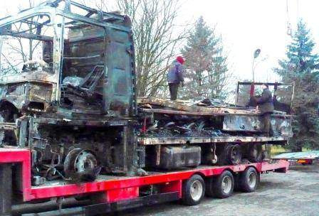 Holowania ciężarówek Litwa
