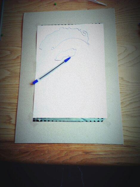 Vorlage, Durchschlagpapier & Pappe