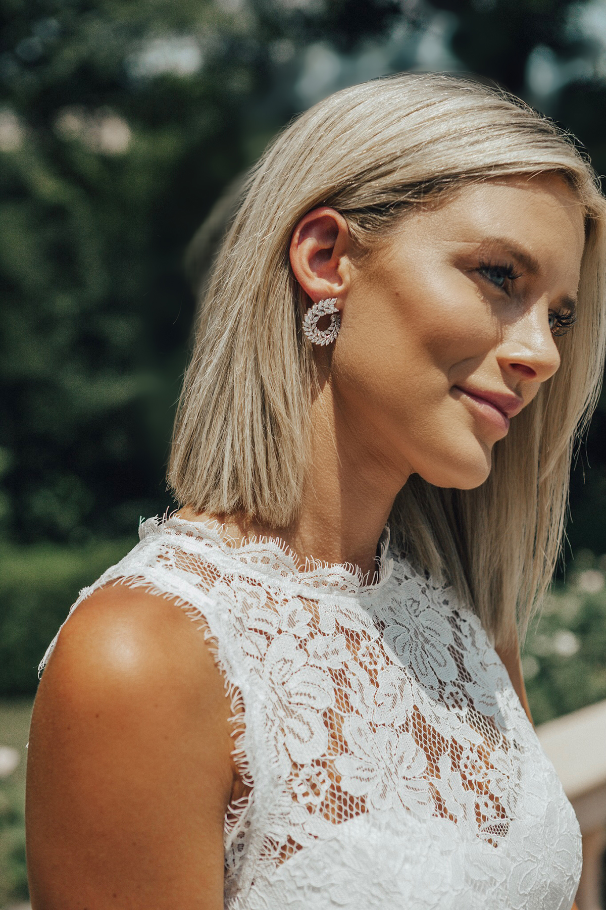 affordable earrings for your wedding day