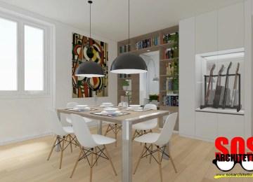 Ingresso Soggiorno Open Space.Dividere La Cucina Dal Soggiorno Open Space Come Dividere Cucina E