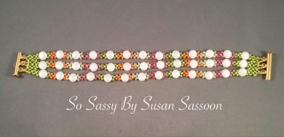 Hugs and Kisses Bracelet - multi color