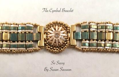 Tila cymbal Bracelet