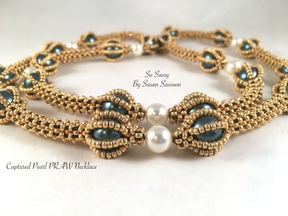 Captured PRAW Pearl Necklace