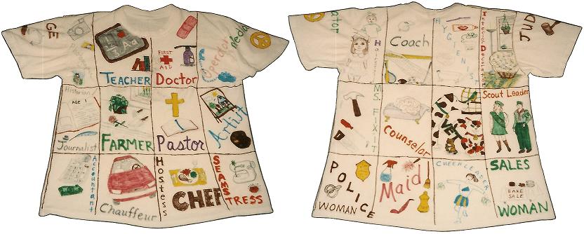 Mom Jobs Tee Shirt