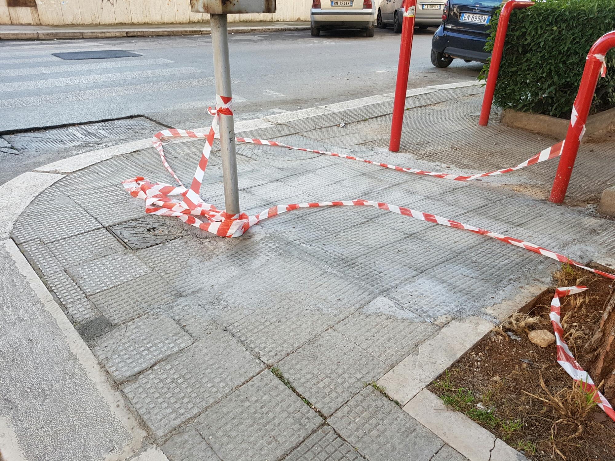 Interventi di manutenzione in città