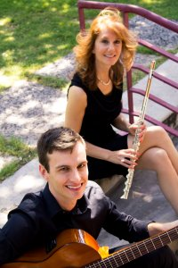 SoSco Guitar Flute Duo musicians in Phoenix