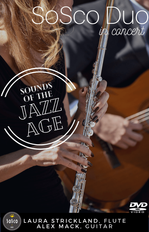 Sounds of the Jazz Age flute guitar cover