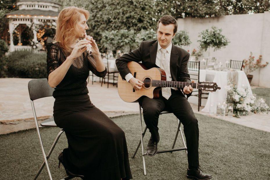 Live music for outdoor event wedding Phoenix