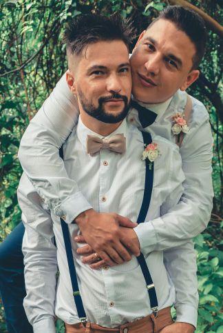 LGBTQ-friendly wedding