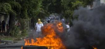¡Basta ya de violencia y represión en Nicaragua!