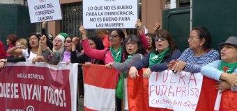La Crónica del cierre del Congreso en el Perú
