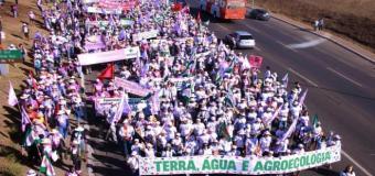 Margaridas seguem em marcha por acesso à terra, direito à água e em defesa da agroecologia