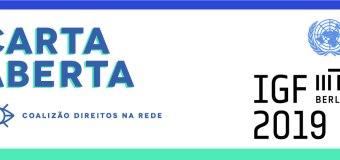 Coalizão de Direitos na Rede lança carta aberta diante das ameaças à Internet democrática, livre e aberta no Brasil