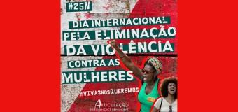 #25deNovembro Dia Internacional Pela Eliminação da Violência Contra as Mulheres
