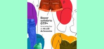 GTP+ realiza bazar solidário  até dia 20 de fevereiro