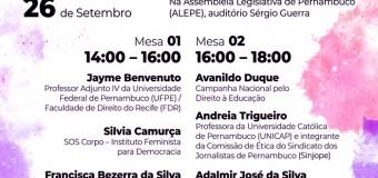 Os (des)caminhos da Democracia e dos Direitos Humanos no Brasil é tema de seminário na ALEPE