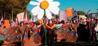 Margaridas na luta por DEMOCRACIA e garantia de DIREITOS