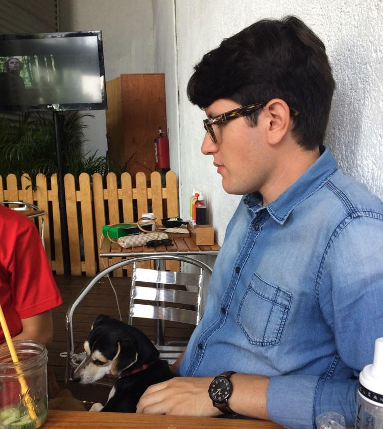 Alex Madero y Blackie