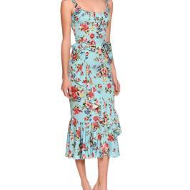 Vestido floral de Dolce & Gabbana.
