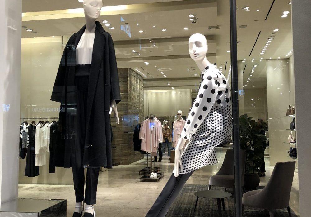 Window shopping in San Francisco