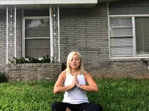 yoga soselfie