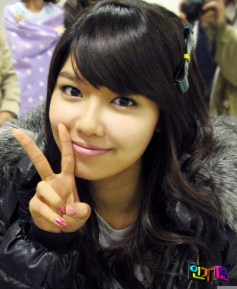 0-snsd sooyoung cute peace