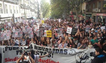 Spain: Mogok umum pelajar yang bersejarah